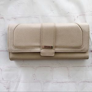 💐5/$25!💐Kenneth Cole reaction long tan wallet